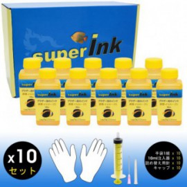 KIT 10x100ml Yellow (sublimation) for Brother printers